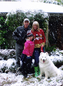 The Dasher Family -2009 Snow