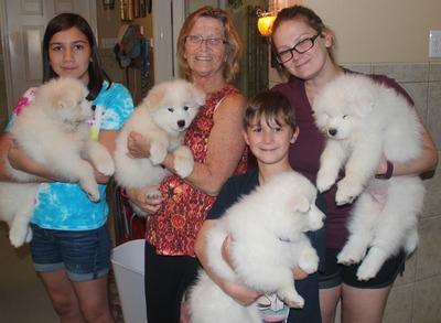 2017 - Pauline Lassman and Family